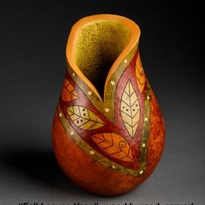 fall leaves vase copy