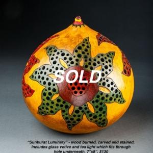 sunburst luminary copy 2 sold